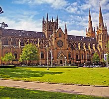 132 Years For Gothic Revival - St Mary's Cathedral, Sydney by TonyCrehan