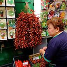 The Chilli Seller by fenster