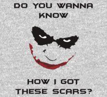 Joker Scars Kids Clothes