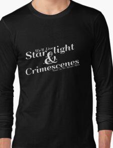 Starlight and Crimescenes Long Sleeve T-Shirt