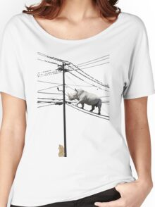 Rhino Wire Women's Relaxed Fit T-Shirt