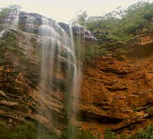 Wentworth Falls panorama by Michael Matthews