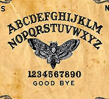 Death Head Moth Oracle Ouija Spirit Board  by studi03