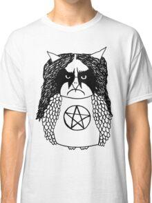 Black Metal Owl Classic T-Shirt