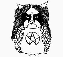 Black Metal Owl Unisex T-Shirt