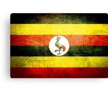 Uganda - Vintage Canvas Print