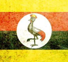 Uganda - Vintage Sticker