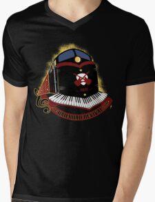 Revive the Music on Rails Mens V-Neck T-Shirt