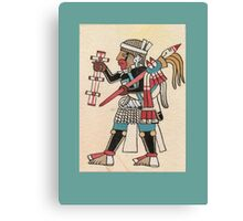 Aztec Warrior Canvas Print