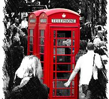 Red Phonebox by Paul Stevens