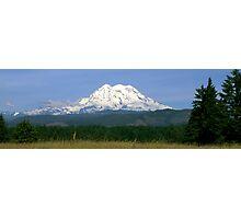 West Mt Rainier Photographic Print