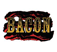 Bacon Poster Photographic Print