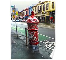 Old Post Box (Melbourne) Poster