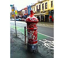 Old Post Box (Melbourne) Photographic Print