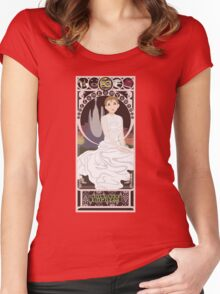 Childlike Empress Nouveau - Neverending Story Women's Fitted Scoop T-Shirt