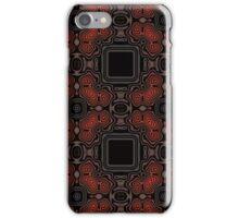 Black Squares II iPhone Case/Skin