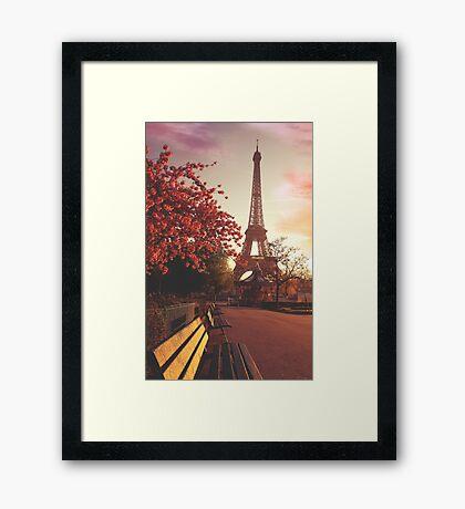 Evening in Paris Framed Print