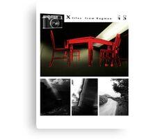 X files Calendar cover 2013 #1 Canvas Print