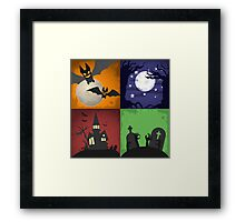 Halloween - 4 Boxes Framed Print