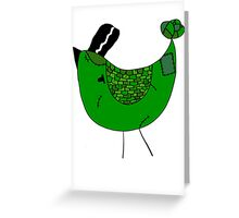 Bride of Frankendoodle Greeting Card