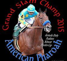 American Pharoah Grand Slam Champ 2015 by ayemagine