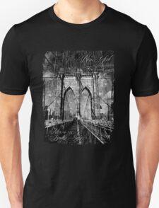 Brooklyn Bridge 1883 Unisex T-Shirt