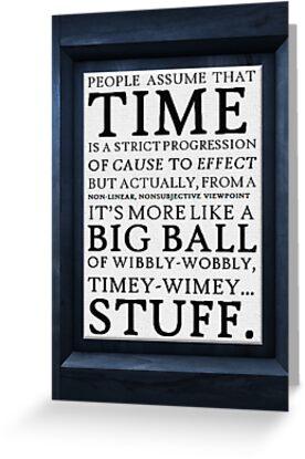 Wibbly-Wobbly, Timey-Wimey.. Stuff! by thesoundofdrums
