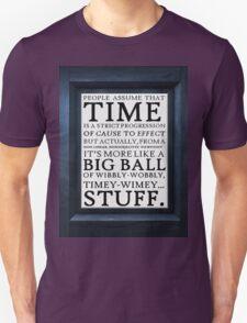 Wibbly-Wobbly, Timey-Wimey.. Stuff! T-Shirt