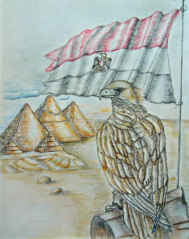 freedom of egypt by thuraya arts