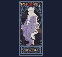 Amalthea Nouveau - The Last Unicorn One Piece - Short Sleeve