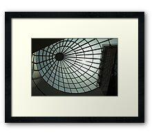 Desert Web Framed Print