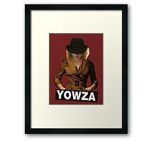 YOWZA Framed Print