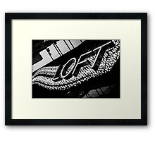 Wave of Lights Framed Print