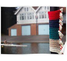 Knitting Cambridge Poster