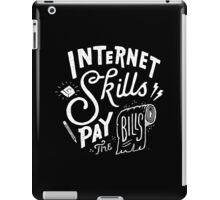 Pay the Bills iPad Case/Skin