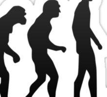 Human evolution - Evolve or die Sticker