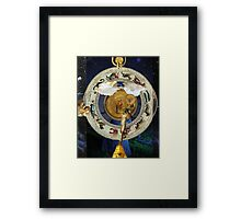 Stepping Into One's Chart Framed Print