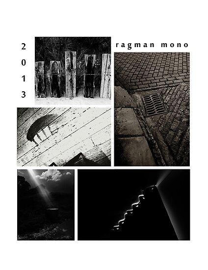 Ragman mono X files calendar cover by ragman