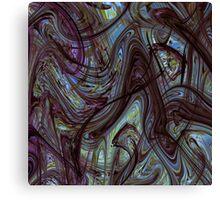 Digital Expressionism Study 2 Abstract Art Canvas Print