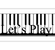 Let's Play Sticker