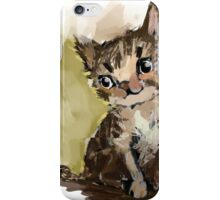 Curious Kitten iPhone Case/Skin