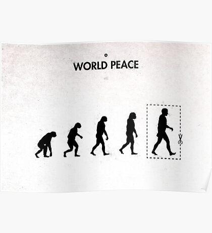 99 Steps of Progress - World peace Poster
