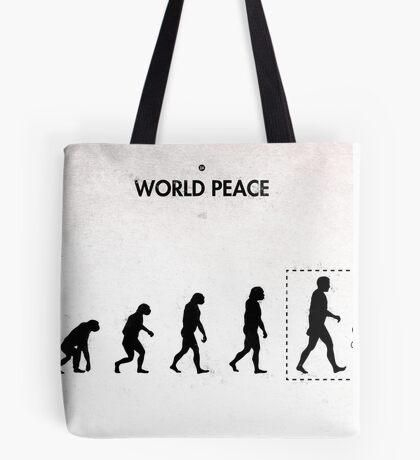 99 Steps of Progress - World peace Tote Bag