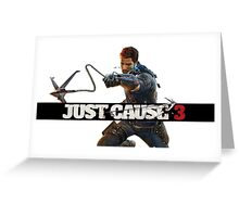 Just Cause 3 Greeting Card