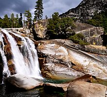 King Canyon California Waterfall by FishmanPhoto