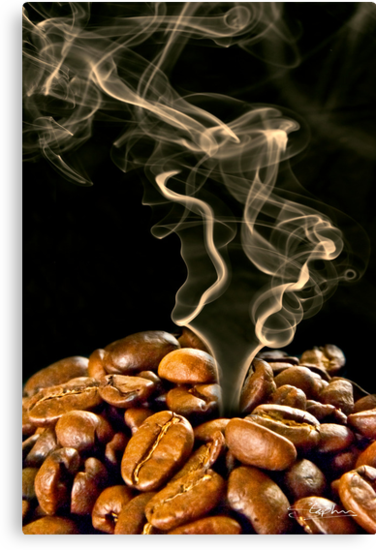 Roasting the beans by Stephen Knowles