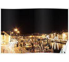 Weymouth Harbour, England Poster