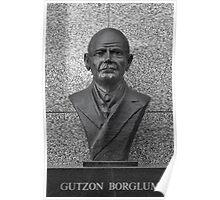 Gutzon Borglum Poster