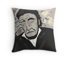 Lincoln Mourning Willie Throw Pillow