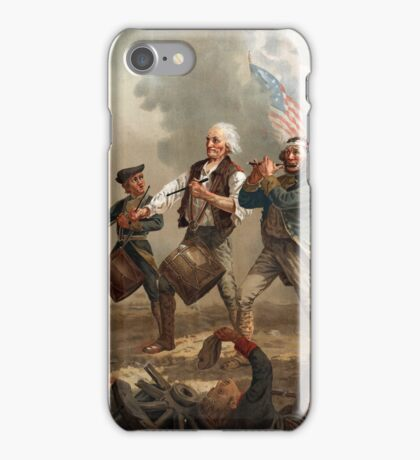 The Spirit of '76 aka Yankee Doodle by Archibald Willard (c 1876) iPhone Case/Skin